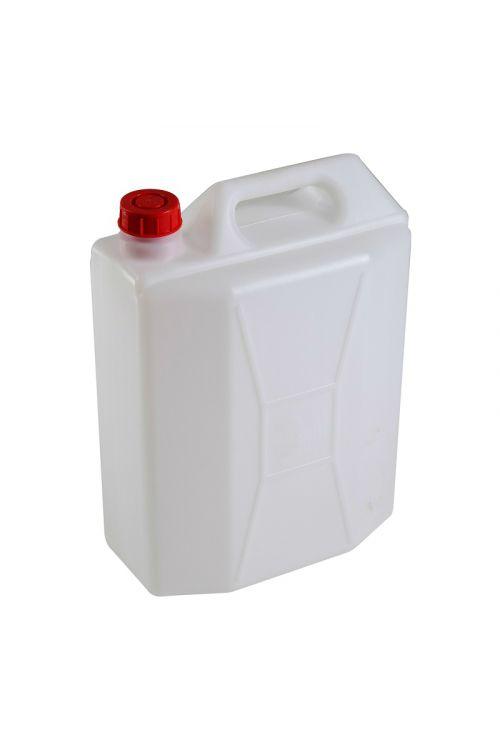 Kanister 30 l (30 l, primeren za shranjevanje pijače, bele barve)