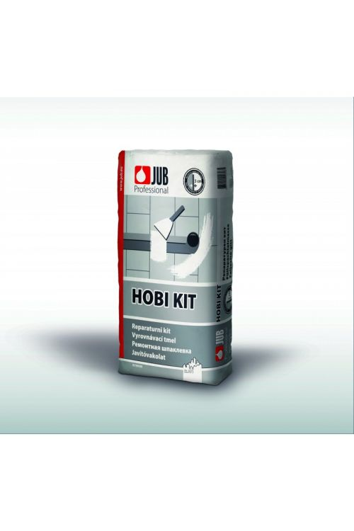 Suha izravnalna masa JUB HOBI KIT  (2 kg, na bazi mavca, za izravnavo večjih vdolbin in neravnin ter za polnenje instalacijskih kanalov, reg in fug)