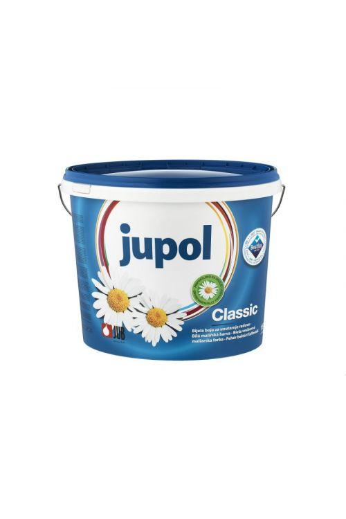 Notranja stenska barva JUPOL CLASSIC bela (15 l, na vodni osnovi, za manj obremenjene stenske in stropne površine, okolju in uporabniku prijazna, vrhunska paroprepustnost)_2