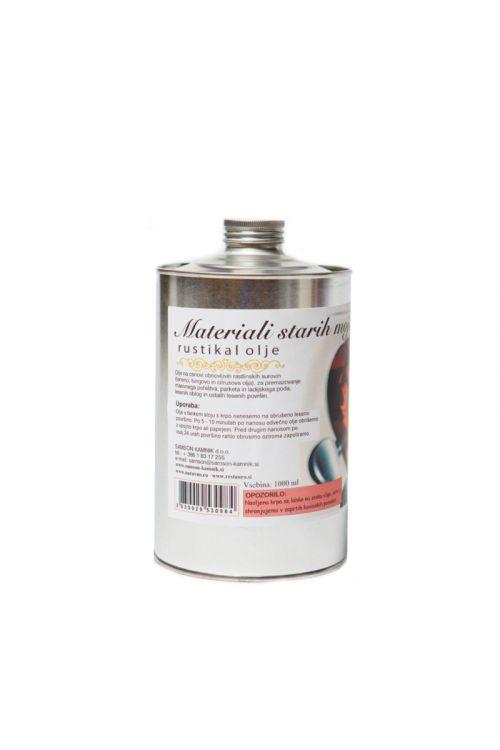 Olje za les RUSTIKAL (1 l, za premazovanje masivnega pohištva, ladijskega poda, lesnih oblog, parketa in ostalih lesenih površin)_2
