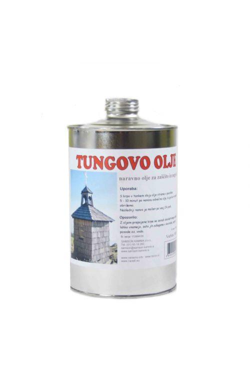 Tungovo olje  (1 l, za zaščito lesa na prostem)_2