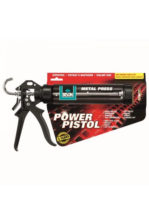 Pištola za kartuše Bison Power (plastika in kovina)