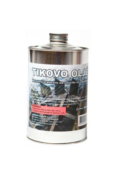 Tikovo olje  (1 l, za zaščito lesa na prostem)_2