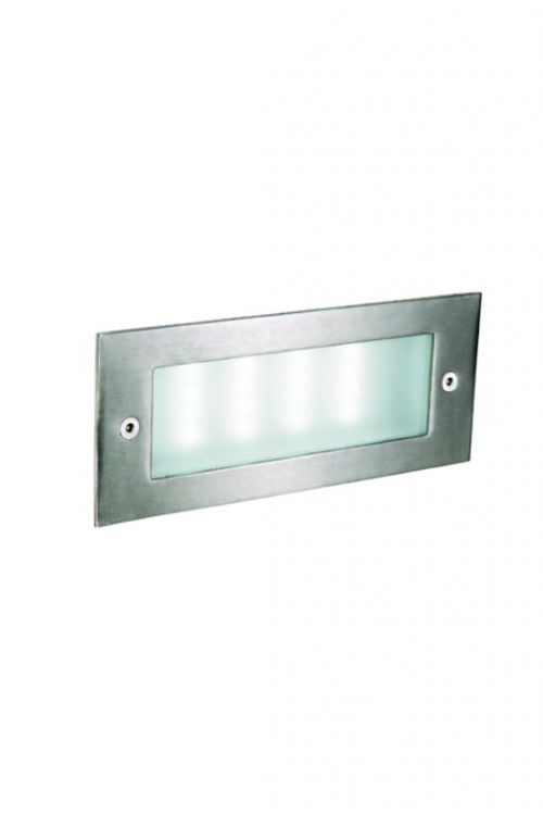 LED zunanja vgradna svetilka Ferotehna Sonia (3,2 W, 17 x 6,8 x cm, 16 LED, 6000 K, 140 lm)