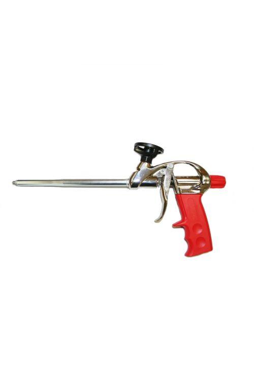 Pistola za oliuretanska peno MWA-1 (trdna izdelava, polirano aluminjasto ohišje, adapter in igla)