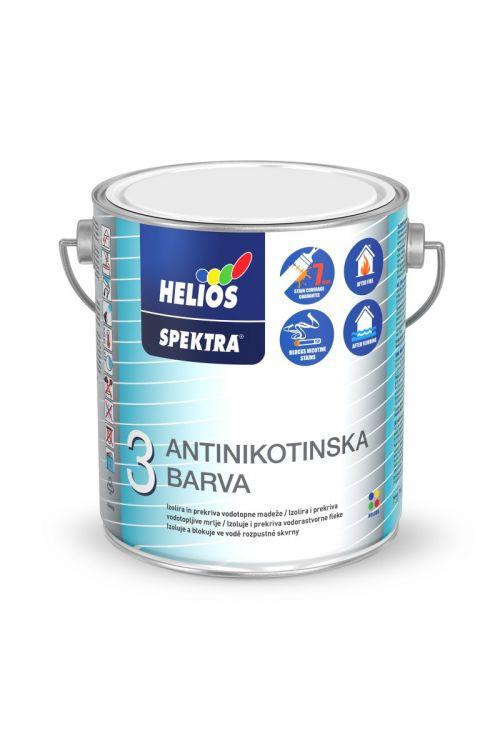 Antinikotinska barva SPEKTRA bela  (2,5 l, za izolacijo vodotopnih madežev, nastalih od kajenja, katrana, požara, sadnih sokov)._2
