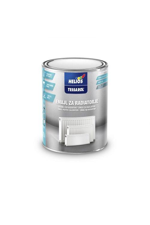 Barva za radiatorje TESSAROL 9301 bela (750 ml, zaščita radiatorjev in višjim temperaturam izpostavljenih predmetov)