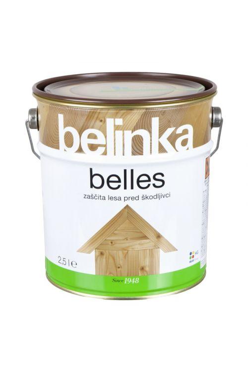 Impregnacija za les BELLES  (2,5 l, osnovna zaščita pred biološkimi škodljivci, modrenjem, glivami in insekti)_2