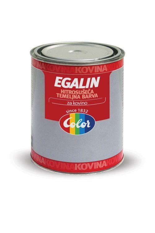 Temeljna barva za kovino EGALIN siva (750 ml, osnovna, za zaščito kovinske galanterije in ostalih železnih predmetov)