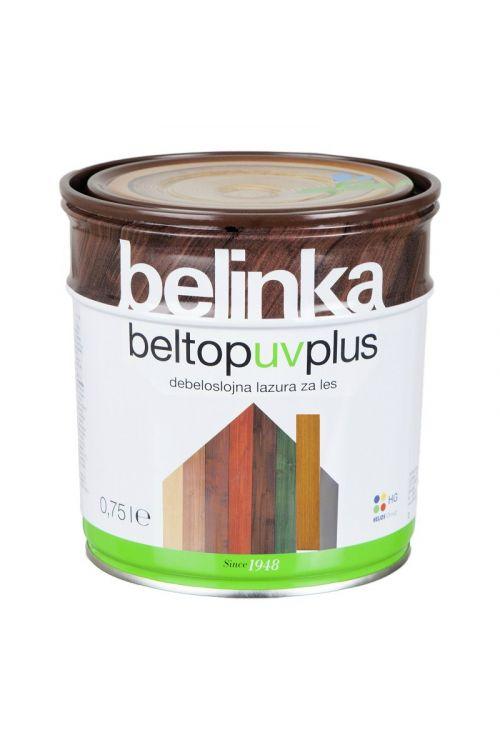 Debeloslojna lazura za les BELTOP S UV PLUS bor (750 ml, za zaščito lesa izpostavljenega močnim vremenskim vplivom)