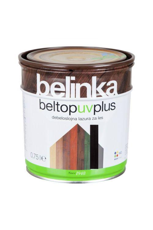 Debeloslojna lazura za les BELTOP S UV PLUS ebenovina (750 ml, za zaščito lesa izpostavljenega močnim vremenskim vplivom)