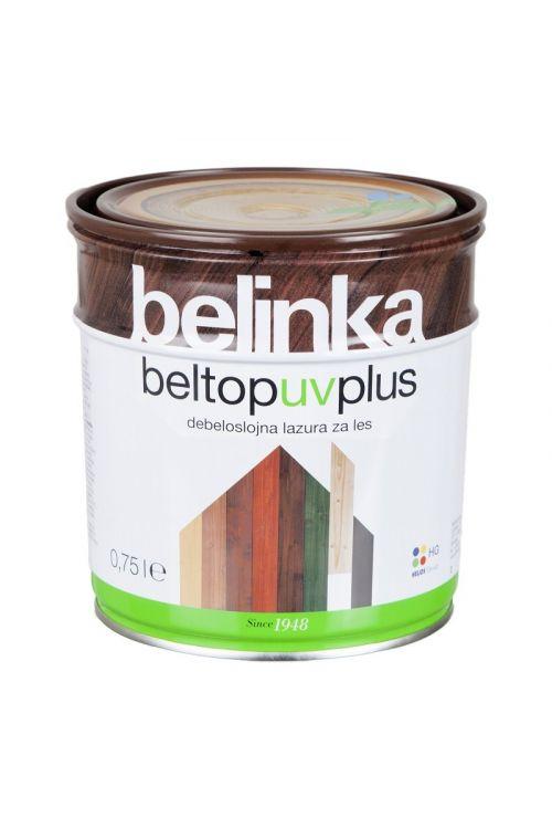 Debeloslojna lazura za les BELTOP S UV PLUS bezbarvna (750 ml, za zaščito lesa izpostavljenega močnim vremenskim vplivom)