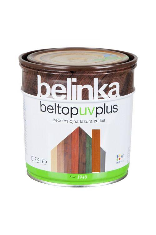 Debeloslojna lazura za les BELTOP S UV PLUS mahagonij (750 ml za zaščito lesa izpostavljenega močnim vremenskim vplivom)