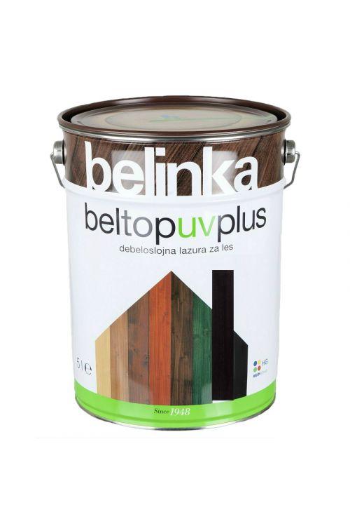 Debeloslojna lazura za les BELTOP S UV PLUS ebenovina (5 l, za zaščito lesa izpostavljenega močnim vremenskim vplivom)_2