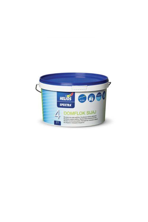 Lak SPEKTRA DOMFLOK  (2 l, sijaj, zaščita notranjih stenskih površin, visoko pralen, brezbarven)_2