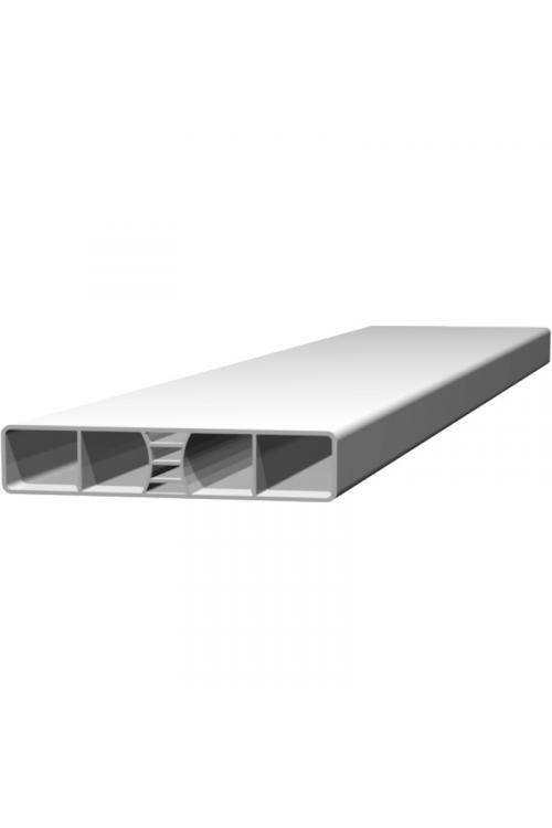 PVC ograjna letev P020 (1200x20 mm, bela)_2