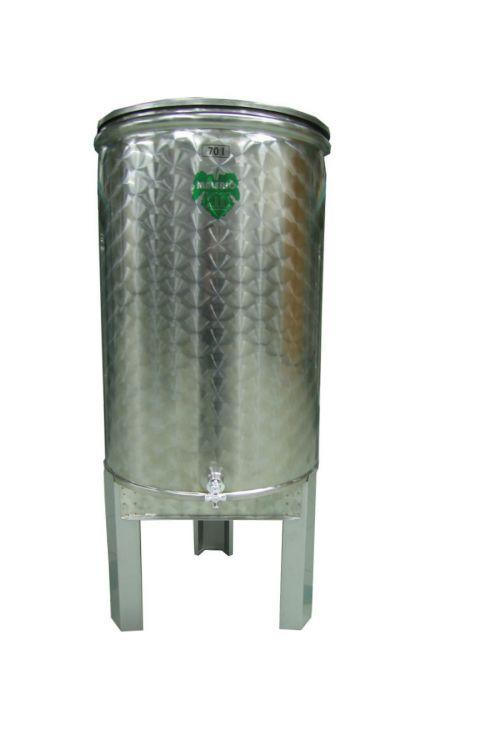 Sod za vino (nerjavno jeklo inox, 70 l)