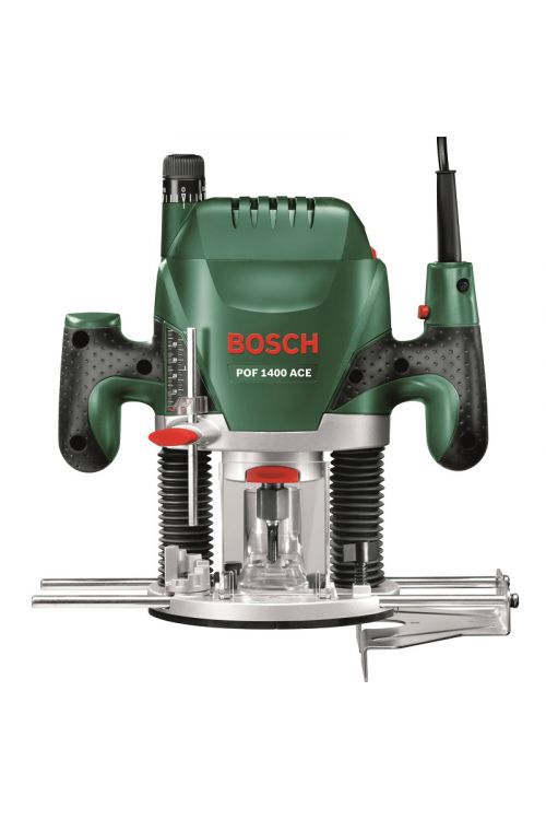 Ročni rezkalnik BOSCH POF 1400 ACE (1.400 W, maks. hod rezkalne glave: 55 mm)