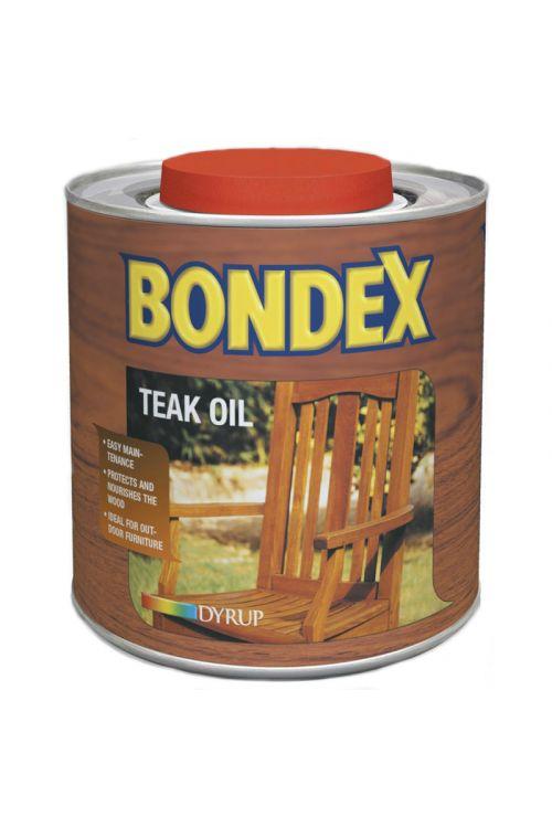 OLJE ZA TIKOVINO BONDEX (750 ml, neguje in obnavlja, za zunanjo in notranjo uporabo)