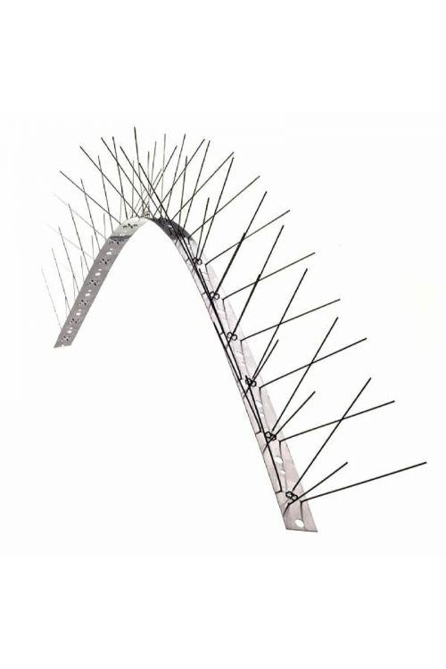 Ločna zaščita proti pticam (96 x 2,5 x 0,05 cm, nerjaveče jeklo)