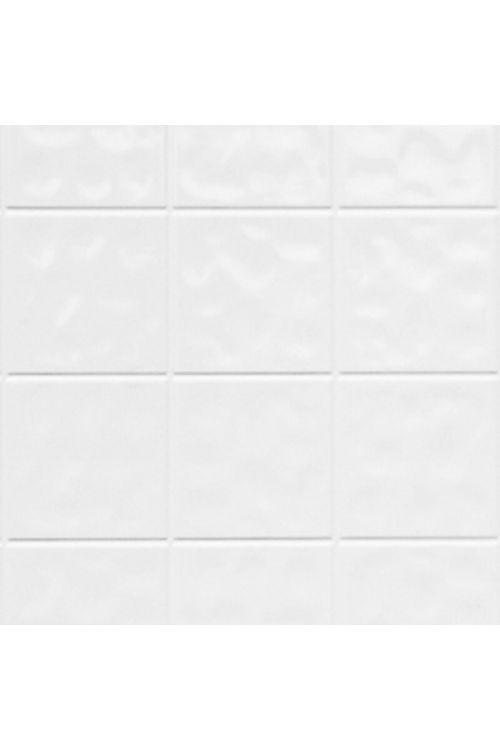 Stenske panelne plošče ABT_Tech (imitacija ploščic, barva: bela, 244 x 122 x 0,32 cm)