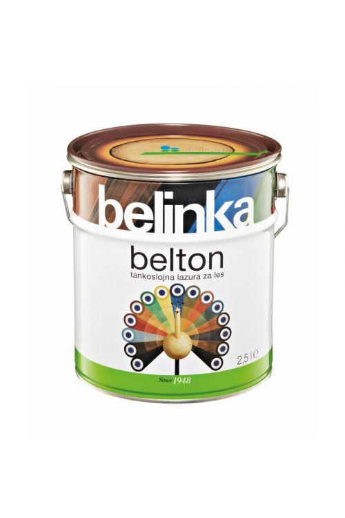 Tankoslojna lazura za les BELTON 1 brezbarvna (2,5 l, zaščita pred vremenskimi vplivi, za notranjo in zunanjo uporabo)_2
