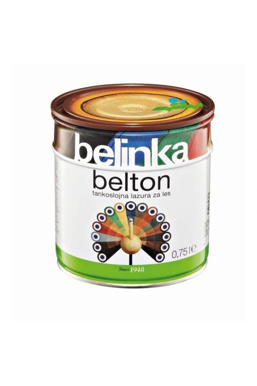 Tankoslojna lazura za les BELTON 4 oreh (750 ml, zaščita pred vremenskimi vplivi, za notranjo in zunanjo uporabo)