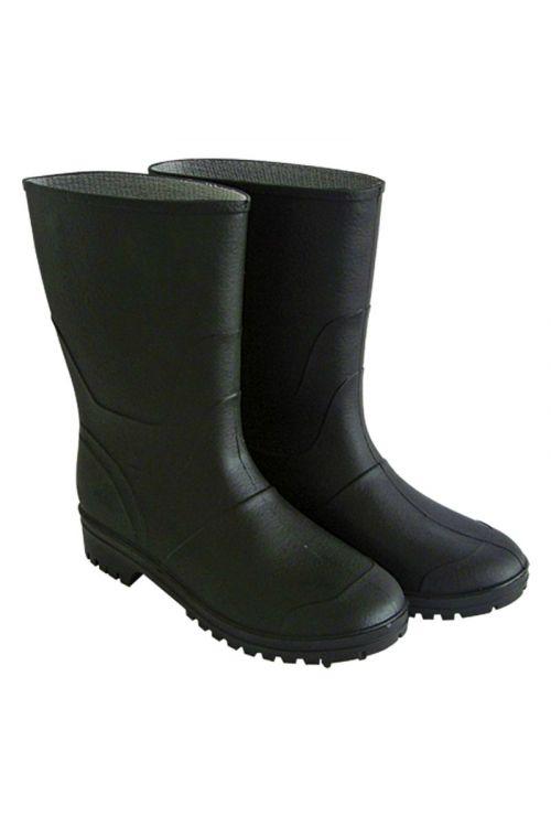 Polvisoki Škornji PVC (velikost: 39, črni)