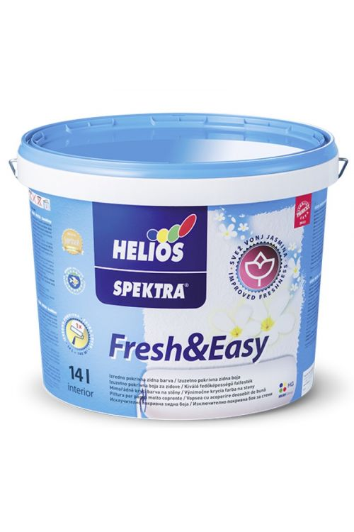 Notranja stenska barva SPEKTRA FRESH&EASY  (14 l, dobro pokrivna, vsebuje mikrokapsulirano dišavo z vonjem jasmina, bela)_2