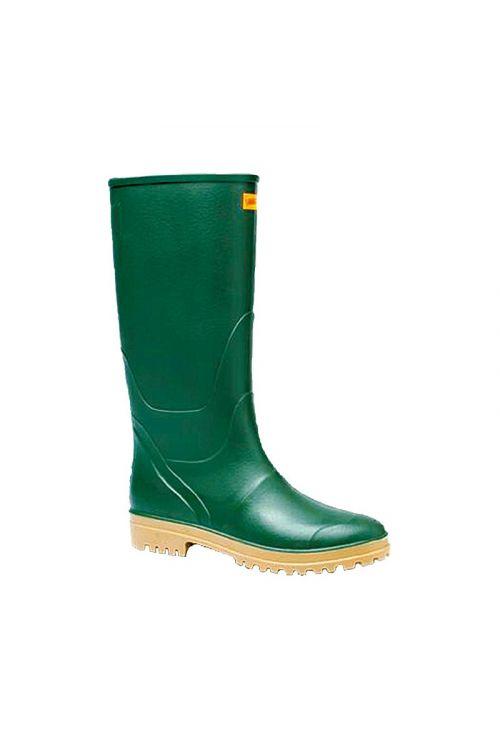 Gumijasti škornji (št. 43, visoki, zelene barve)