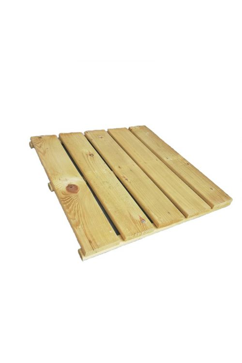 Lesena plošča (50 x 50 cm, bor)