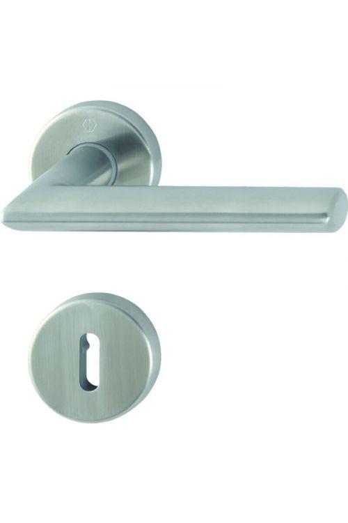 Kljuka za vrata Hoppe Stockholm (ključ, nerjavno jeklo, debelina vrat: 40-45 mm)
