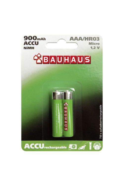 Akumulatorske baterije BAUHAUS (AAA, 2 kosa)