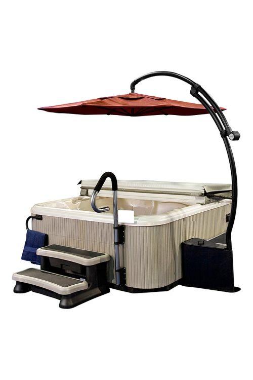 Senčnik za masažni bazen (275 x 260 cm)
