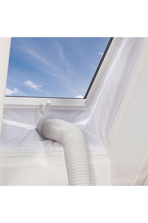 Tesnilo za okno Proklima Hot Air Stop HT800 XL (100% poliester, širina 60 cm, nepremočljivo, pralno, z zadrgo)