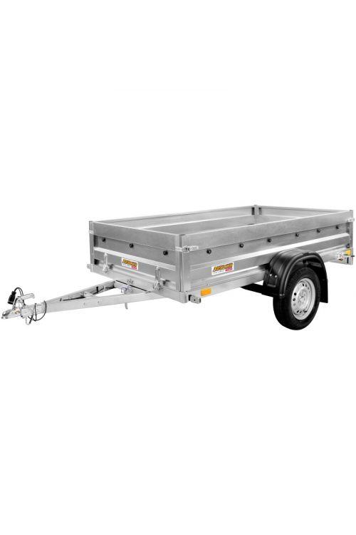 Avtomobilska prikolica RUSTIC N7-236  (notranje mere: 236 x 129 x 40 cm, nosilnost: do 579 kg)