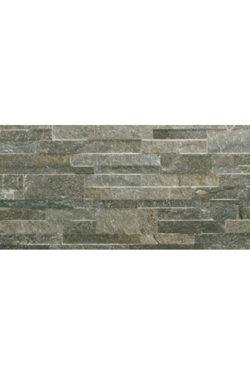 Gres ploščica Muretto (31 x 61 cm, siva, glazirana, R9)