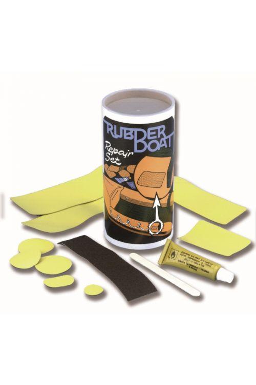 Set za popravilo gumenjakov (12-delni, črne barve)