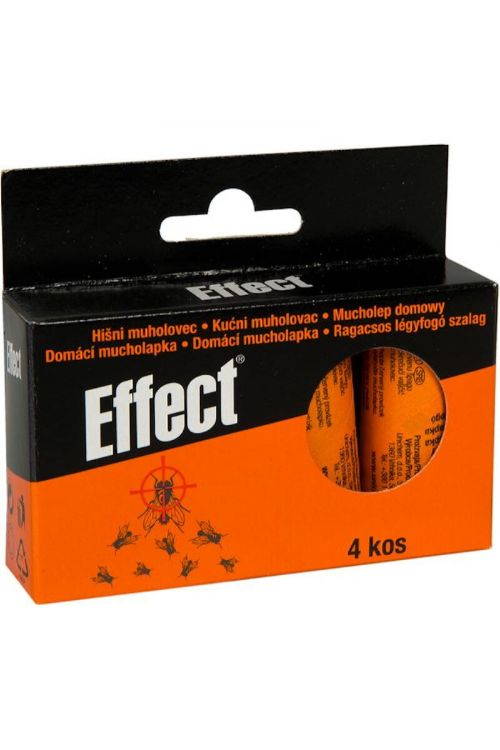 Hišni muholovec z medom Effect (4 kosi)