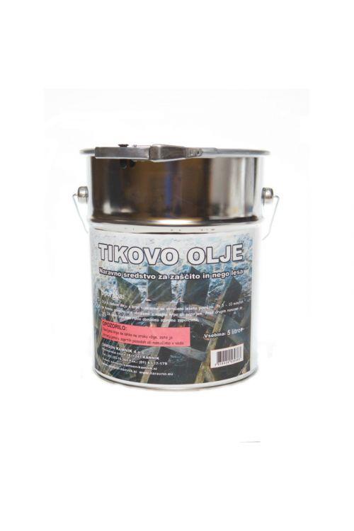 Tikovo olje  (5 l, za zaščito lesa na prostem)