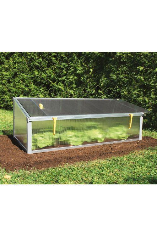 Rastlinjak za zaščito rastlin JUWEL Easy Fix (126 x 58 x 40 cm, plastičen)