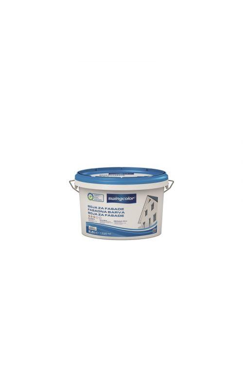 FASADNA BARVA SWINGCOLOR  (2,5 l, odporna na vremenske vplive, dobro pokrivna, za zunanjo in notranjo uporabo, bela)