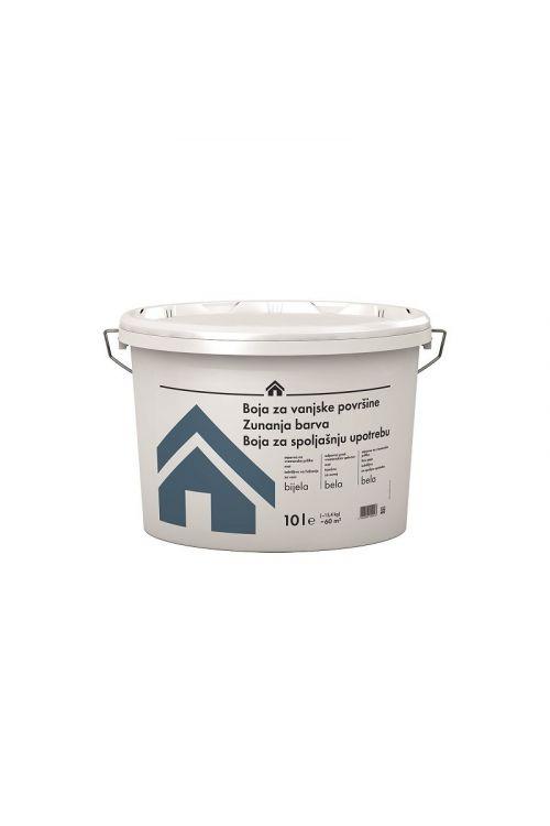 FASADNA BARVA  (10 l, dobro pokrivna, odporna na vremenske vplive, za notranjo in zunanjo uporabo)