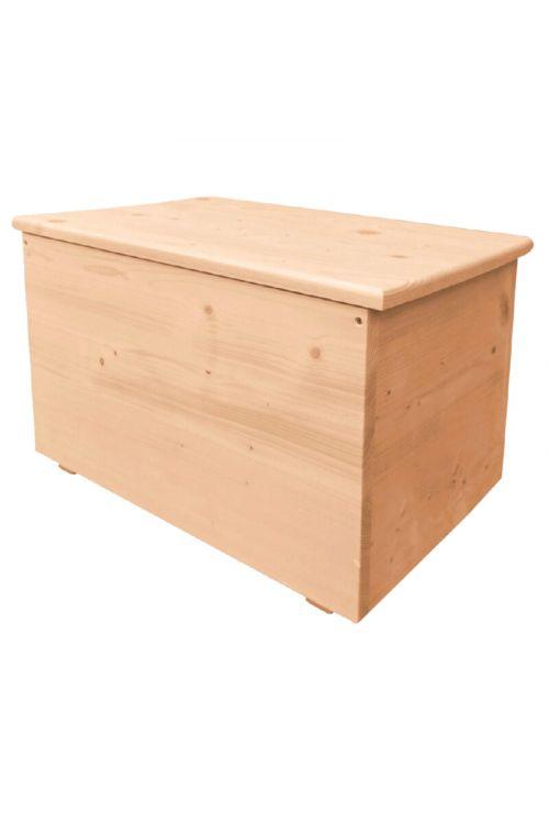 Smrekov zaboj za drva (70 x 40x 40 cm)