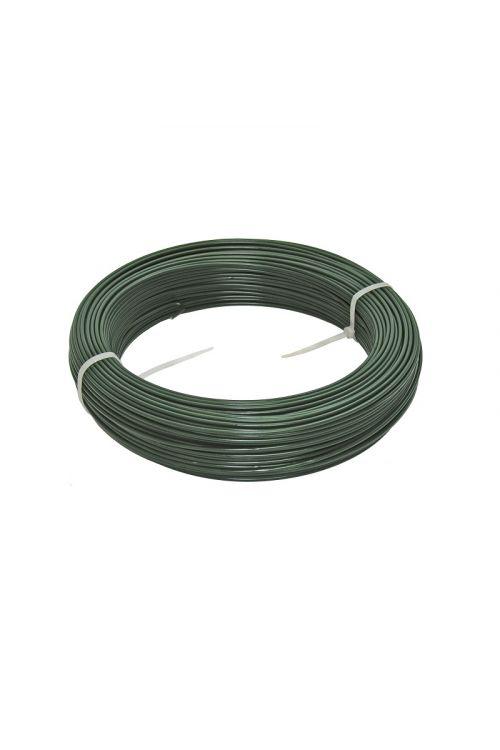 Napenjalna žica Reta (100 m, deb. žice: 2,5 mm, zelene barve)
