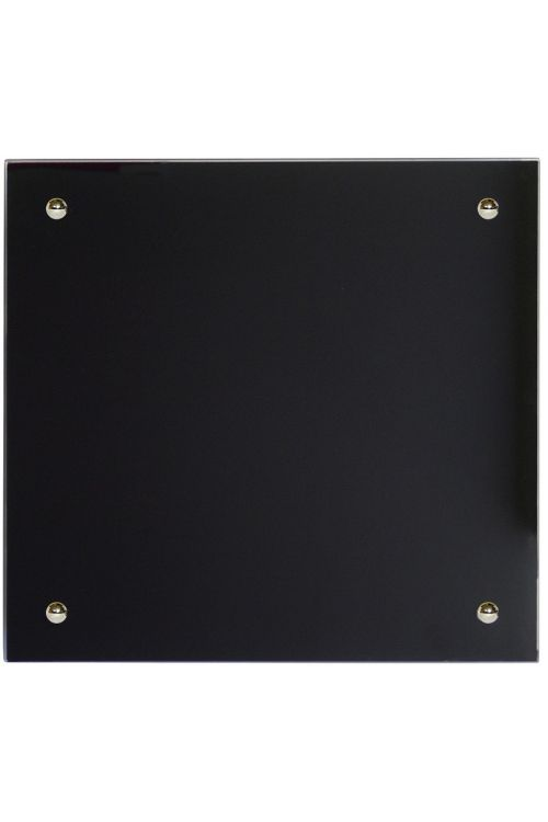 IR Stekleni radiator (350 W, 50 x 50 cm, črn)