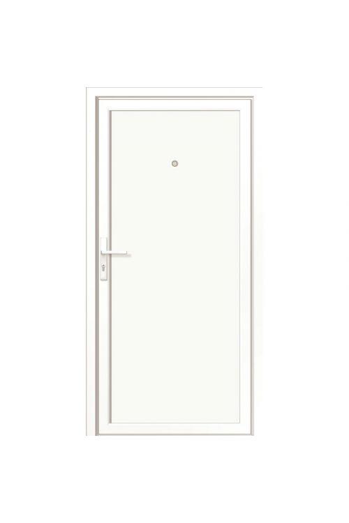 Vhodna vrata Roro BAZ 1100 (2000 x 1000 mm, PVC, bela, desna, 5-točkovno zaklepanje)