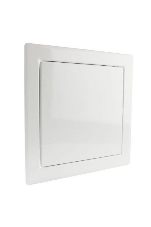 Revizijska vrata (400 x 300 mm, pocinkana pločevina, bele barve)