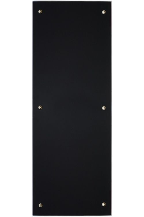 IR stekleni radiator (350 W, 45 x 120 cm, črn)