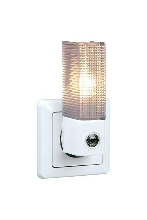 Nočna LED svetilka (1 W, bele barve, 70 x 40 x 110 mm)